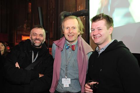 Toby Rose (Evening Standard), Brian Robinson (BFI) and Patrick Howson (Bankside)